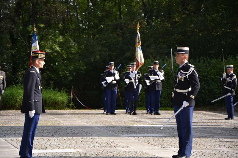 Prise de commandement par le lieutenant colonel christophe for Christophe chaumont