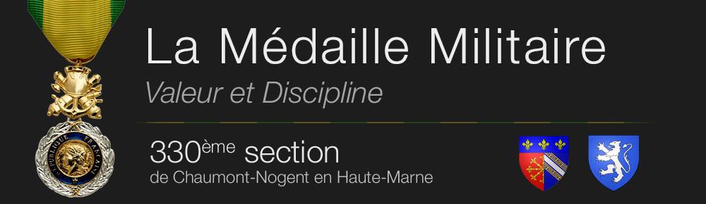 330° Section de la Médaille Militaire de  Chaumont-Nogent